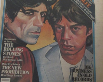 The Rolling Stones Interviews August 21,1980 ROLLING STONE Magazine Tom Wolfe Interview-Collectible Book Magazine