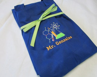 Science Apron Personalized Custom