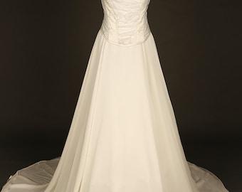 Ivory wedding corset and skirt