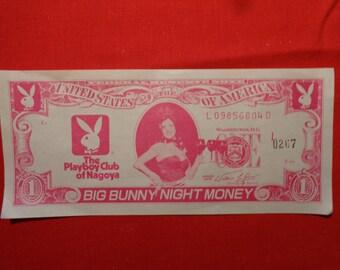 Vintage Playboy Japan Club Of Nagoya Play Money