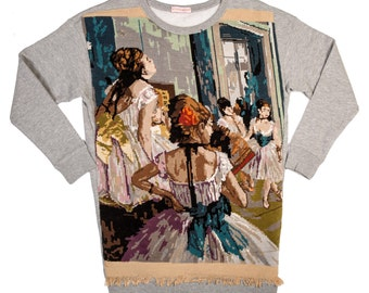 Sweat long Degas woman - S - Collection canvas