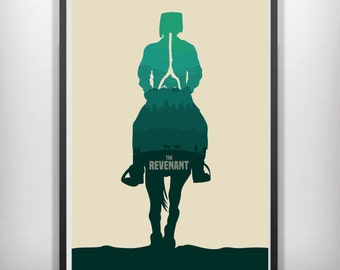 The revenant minimalist movie poster