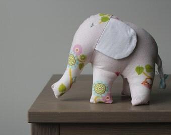 Elephant Stuffed Animal - Pink Baby Toy - Stuffed Animal & Toy