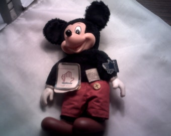 SALE--1981 Mickey Mouse Plush Doll