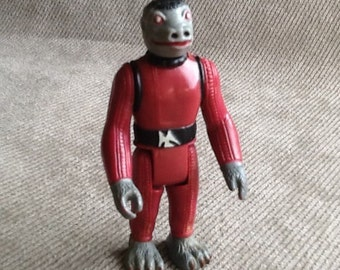 Vintage Original Star Wars Loose Snaggletooth Action Figure Made In Hong Kong From 1978