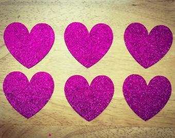20 Medium Sized Hearts
