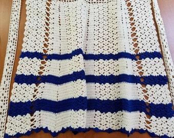 Vintage Crochet Apron  #2