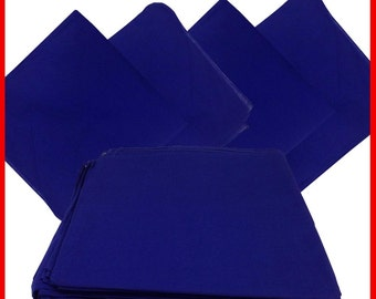 """Blue Solid Bandanas -  27"""" x 27"""" 12 Pack (extra large) 100% Cotton"""