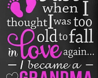 Mothers/Grandparents Day gifts