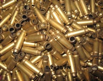 5.7 FN  (7.62X28) Brass Casings (250) +
