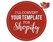 Template Conversion Services to Mobile Responsive Shopify Theme