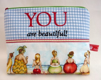 Cosmetic Bag You are beautiful