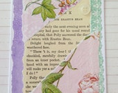 Feminine and Pretty Floral Handcrafted Card for Birthdays/Friendship/Thinking of You