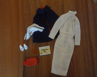 Barbie ~ #991 Registered Nurse: set