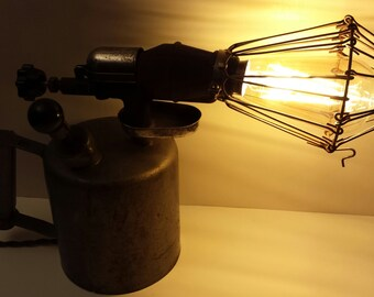 Antique Torch Lamp - Touch Sensitive
