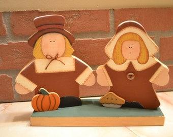 The Thanksgiving Pilgram People