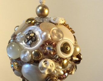 Gold Tiger Eye Ornament