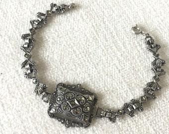 SALE Art Deco Sterling Bracelet