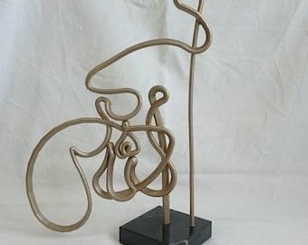 Islamic Art. TAKBIR - 3D Printed Arabic Calligraphy Sculpture.