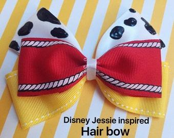 Jessie inspired hair bow