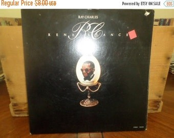Save 30% Today Vintage 1975 Vinyl LP Record Ray Charles Renaissance In Shrink Excellent Condition 4656