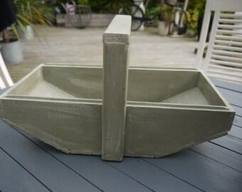 Vintage Garden Trug Basket