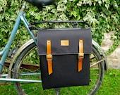 Waterproof Bicycle pannier/ bicycle messenger/lightweight backpack