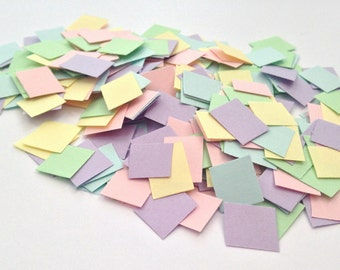 Easter/Spring Pastel Party Table Confetti - Blue, Yellow, Green, Pink, Purple - 400pcs