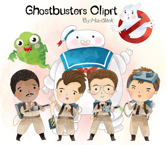 Ghostbusters 1 Character Clipart Png File 300 Dpi