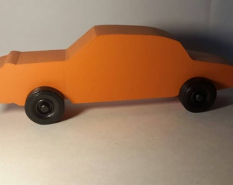 Handcrafted Wood Toy Car #17