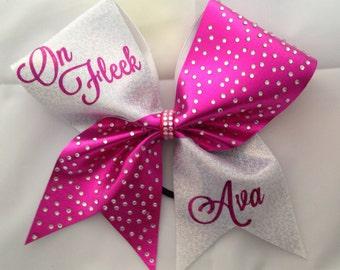 Cheer bow- on fleek!