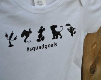 Disney #squadgoals Onesie