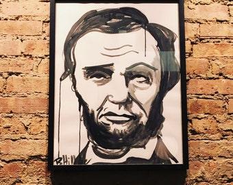 Annoyed Abe