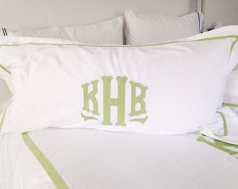 Monogram Applique King Sham / Duvet / Bedding