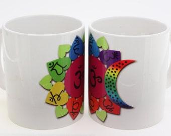 Chakra Symbol Coffee Mug ( 1 piece )