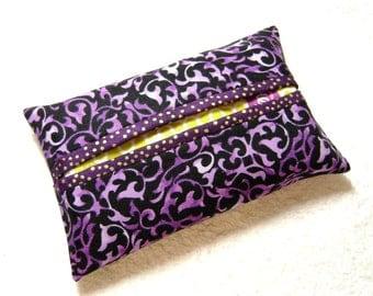 Tissue Holder - Pocket Tissue Holder - Handmade - Tissue - Kleenex - Tissue Holder - Cotton Fabric - TC110