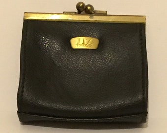 Vintage Liz Claiborne Leather Co Change Purse