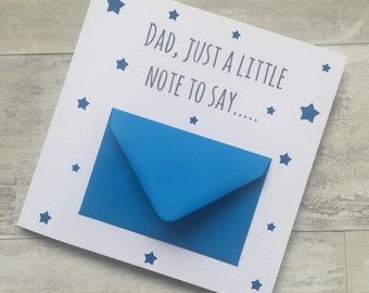 Fathers Day Card - Cute Dad Daddy Birthday Greeting Card Stepdad