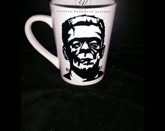 Mr. Frankenstein monster coffee cup