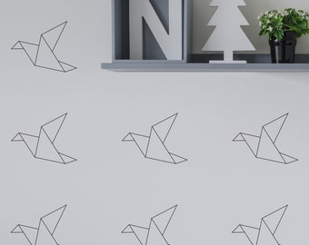 Wall Stickers Origami Birds