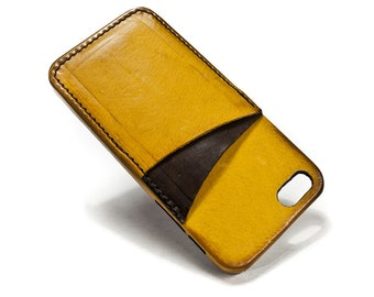iphone credit card case for iphone 5S with double credit card holder Choose Colour BODY and ACCENT