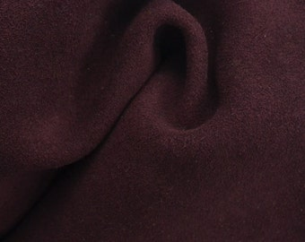 "Dark Brick Red Leather Suede Deer Hide 12"" x 12"" Pre-cut 2-2 1/2 ounces TA-34307 (Sec. 6,Shelf 6,C)"