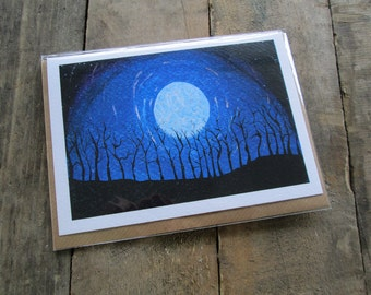 Fantasy Moon Blank Card