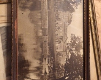 Marshall Field Estate Numbered Picture In Frame
