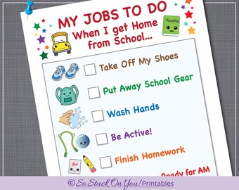 school daily schedule printable