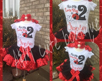 love bug tutu set