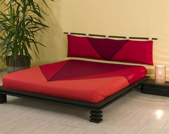 Double bed laminated beech
