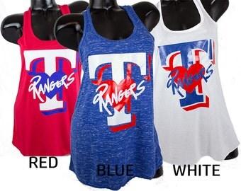 Texas Rangers tanks.Texas baseball.Rangers baseball tanks.rangers. TX rangers baseball tees.