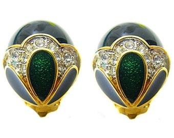 NINA RICCI, beautiful earrings clips