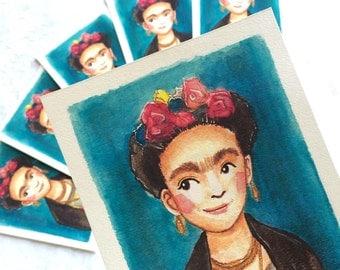 Frida Kahlo Art Print- unframed